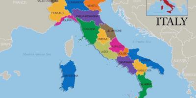Italie Carte Cartes Italie Europe Du Sud Europe